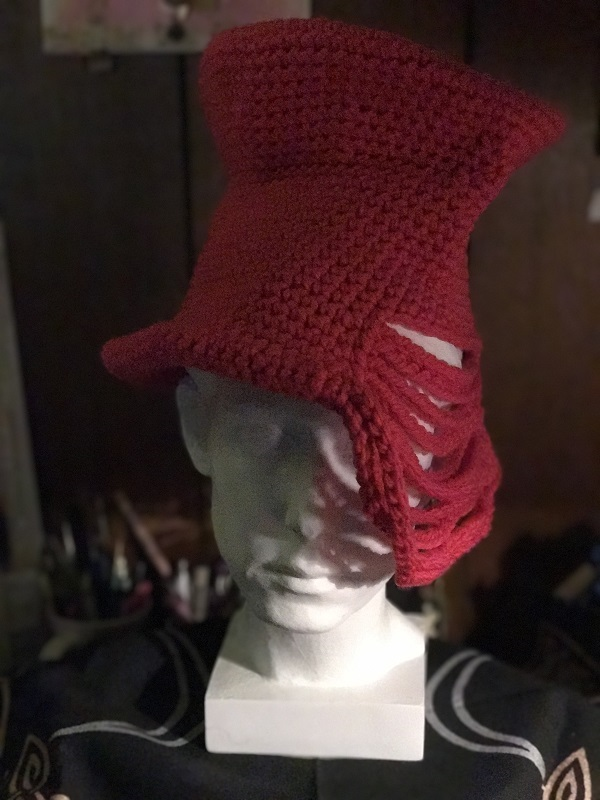 Deconstructed Top Hat Hot pink