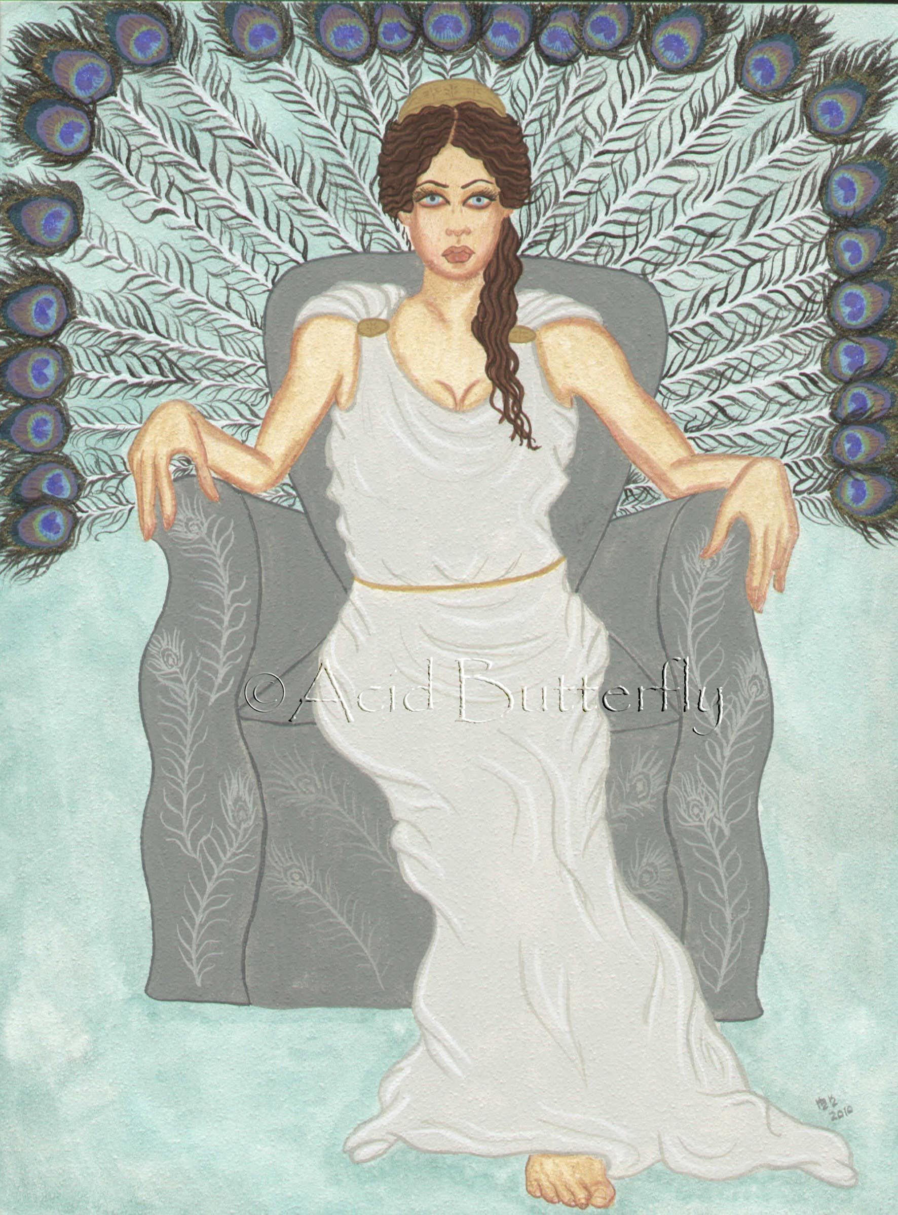 Heras Throne room
