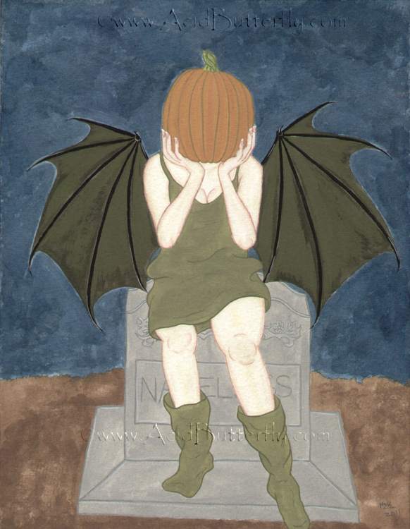 Pumpkin the Shy Faerie