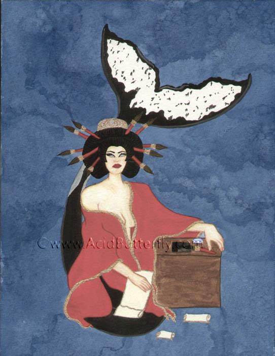 The Oracle (Priestess card)