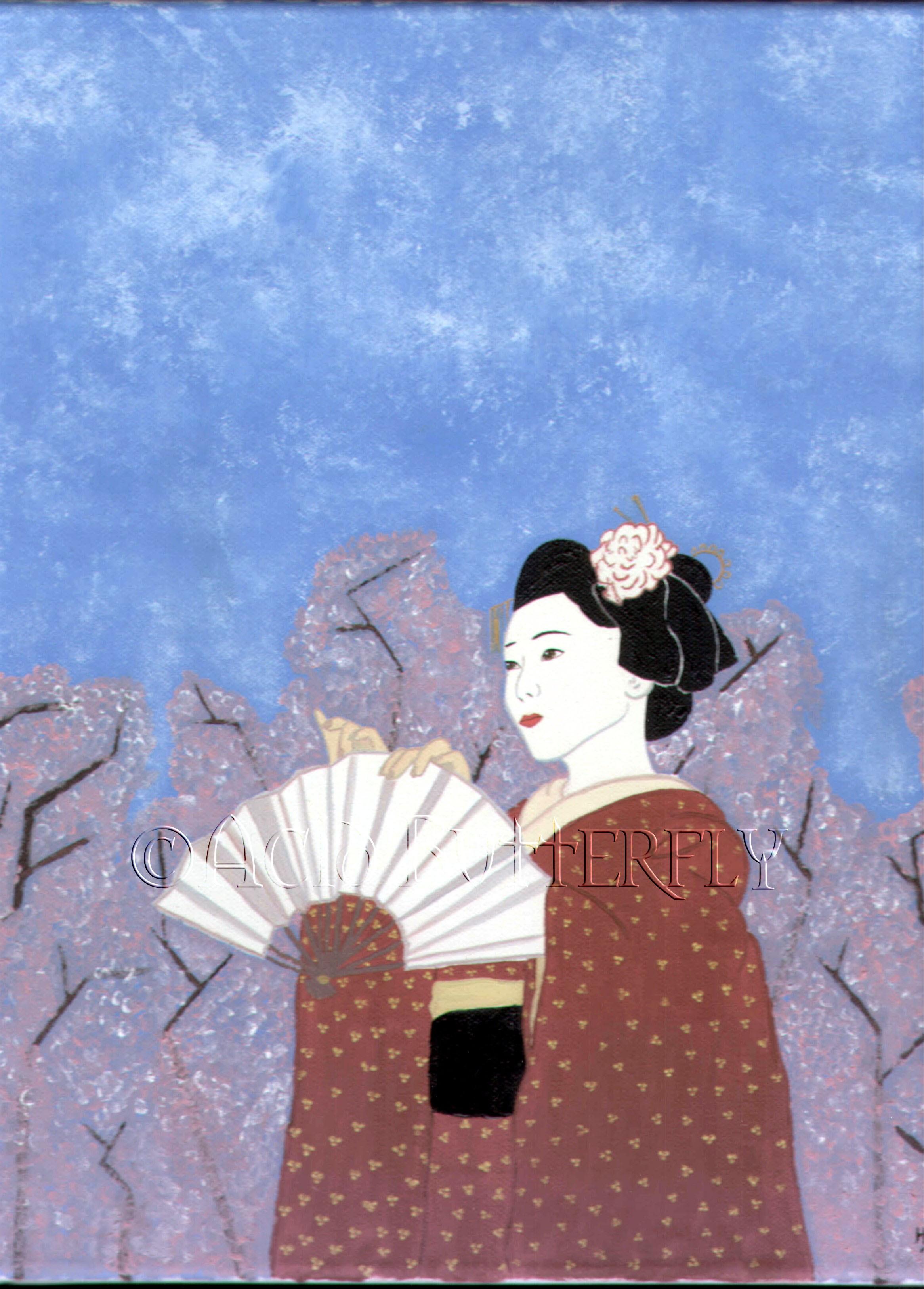 Cherry Blosom Geisha