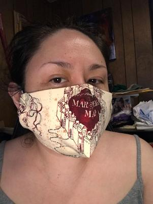 Marauder's Map Mask